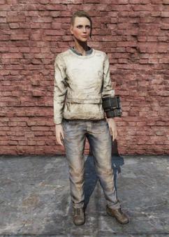 FO76 Straight Jacket Female