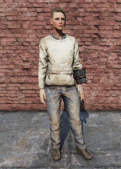 FO76 Straight Jacket Female