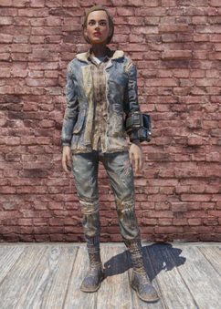 FO76 Winter Jacket and Jeans