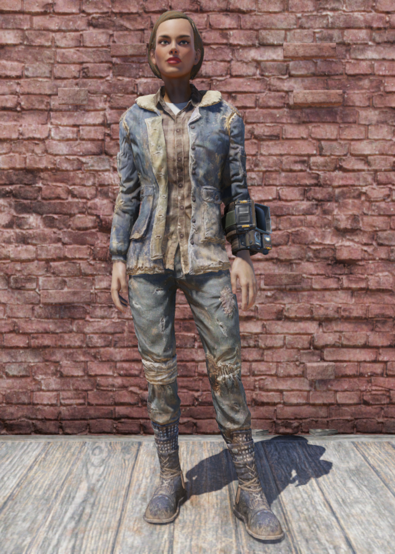 Winter Jacket And Jeans Fallout 76 Fallout Wiki Fandom Powered
