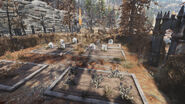 FO76 the Cemetery at Allegheny Asylum
