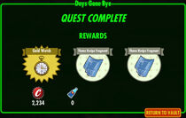 FoS Days Gone Bye rewards