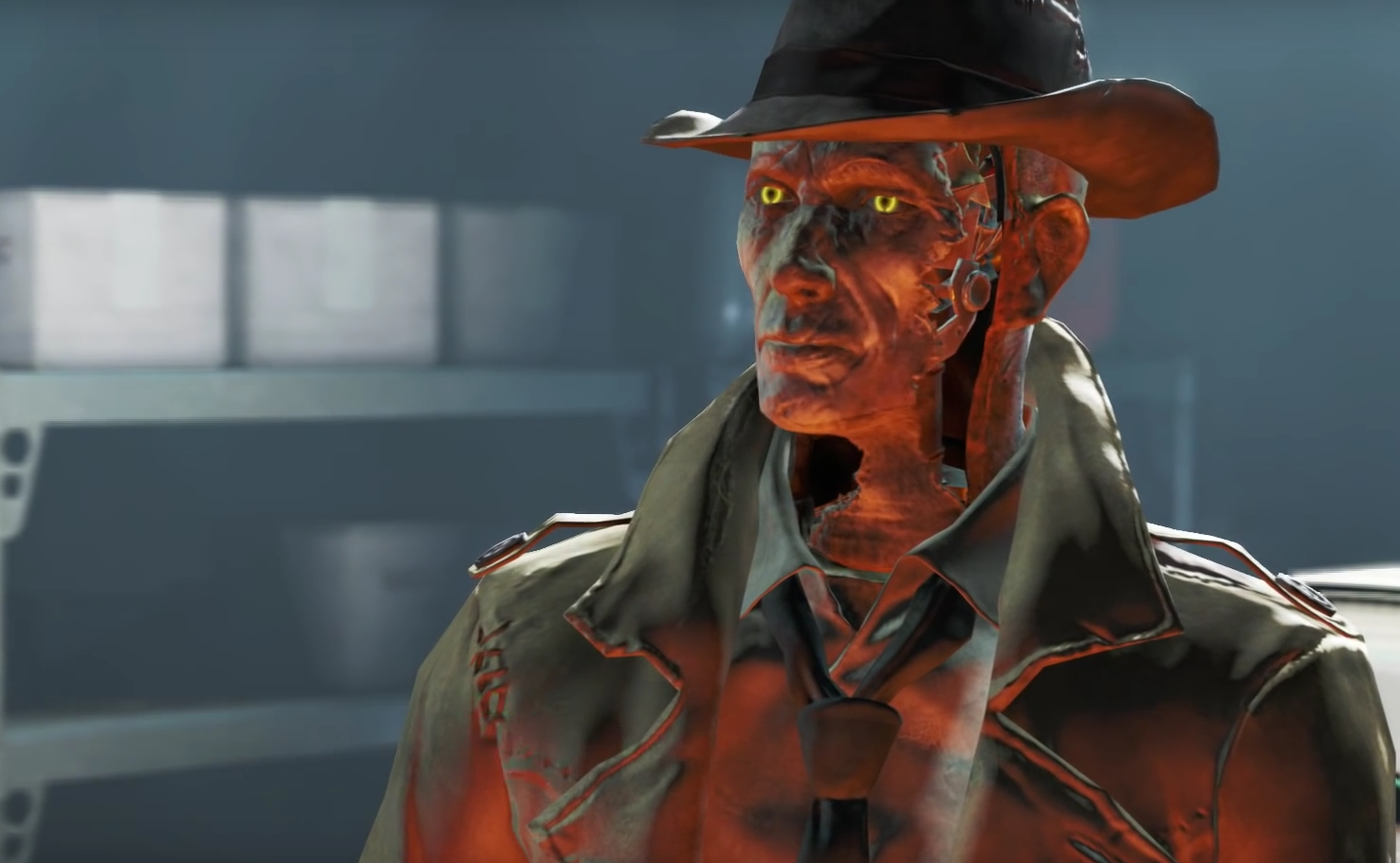 Image result for fallout 4 nick valentine