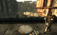 Bethesda ruins Sniper between east and west offices