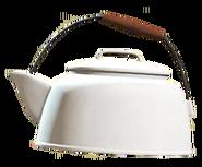 Clean tea kettle