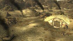 FNV Hidden Valley bunker Destroyed