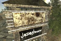 FNV Jacobstown sign up close