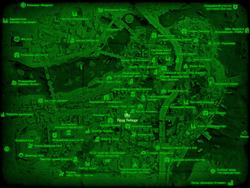FO4 Пруд Лебедя (карта мира)