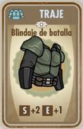 FOS Blindaje de batalla carta