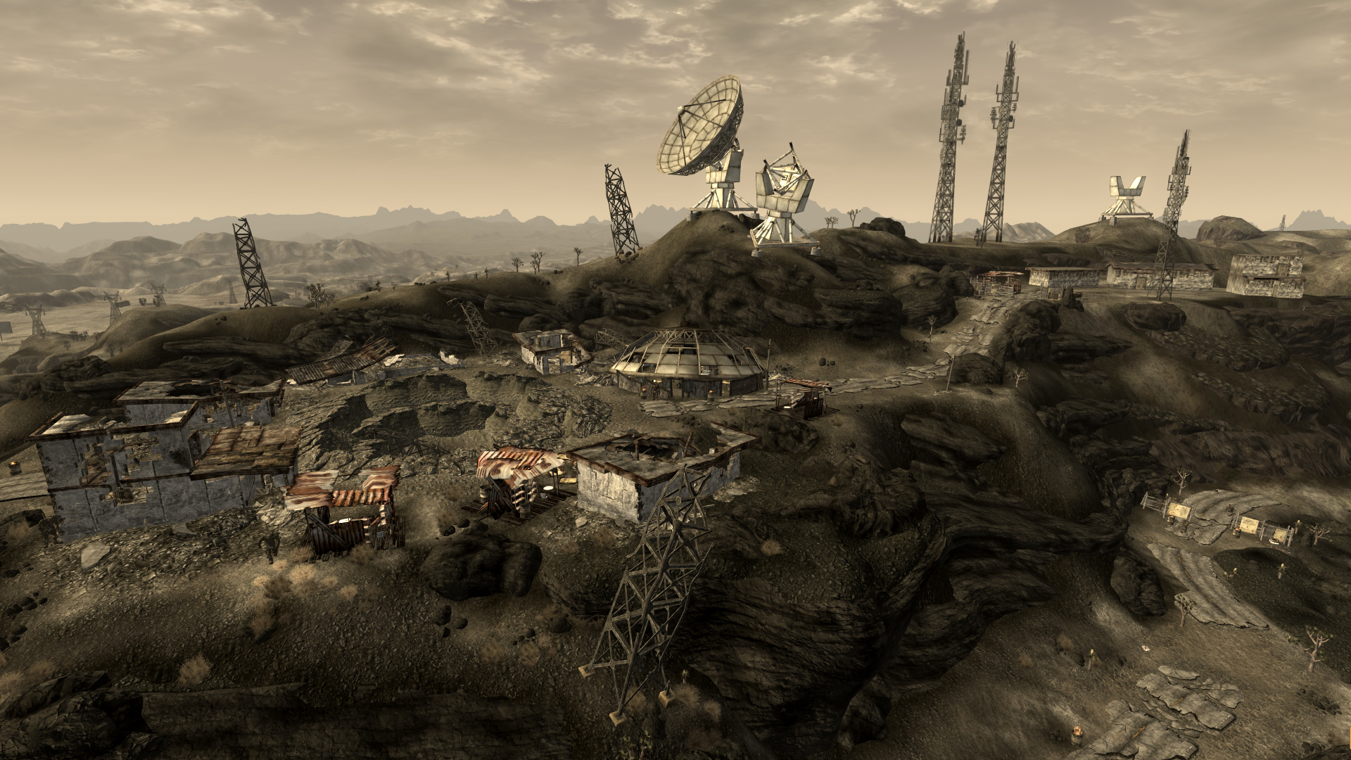 Fallout new vegas black mountain key