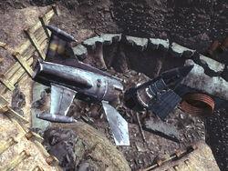 FO3 Wreckage of rockets Delta IX