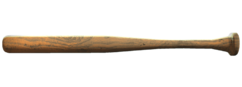 Natural baseball bat fo4