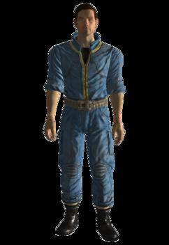 Vault 3 utility jumpsuit