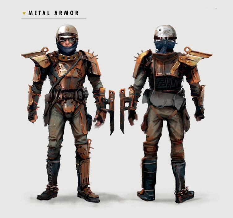 Art of FO4 Metal Armor