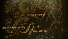 Camp Golf loc map