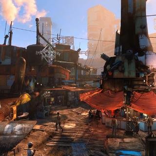 Вид міста (Fallout 4 - Official Trailer)