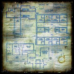 Fo1 Vault 15 Townmap