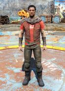 Nuka-Cola t-shirt & leather pants male