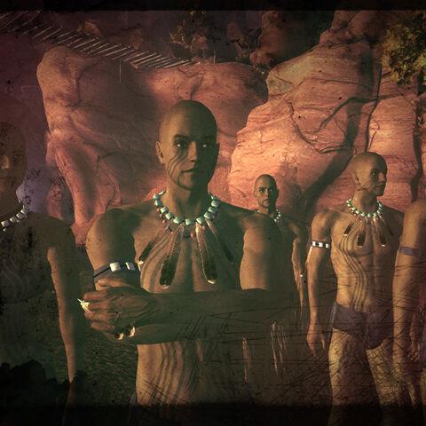 Плем'я Скорботних в одній з кінцівок