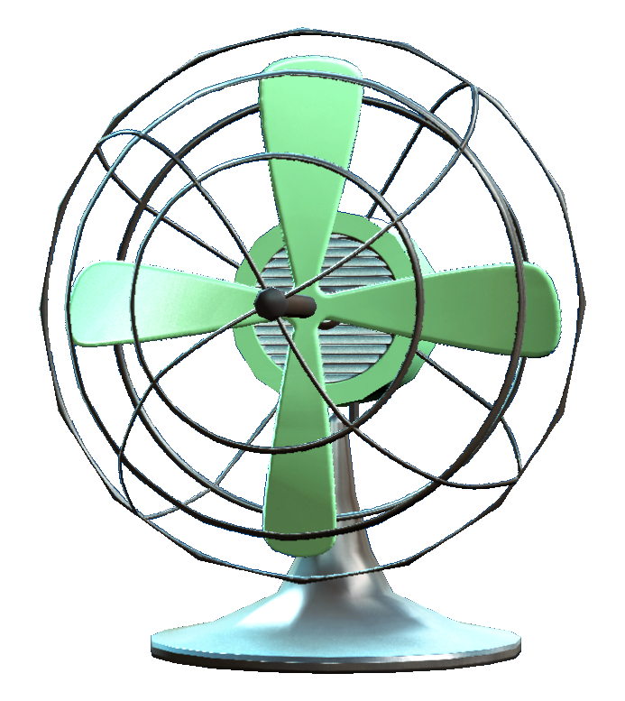 Base Id 0001f905 00192d5d Office Desk Fan