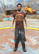 Sunset Sarsaparilla t-shirt male