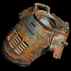 Super mutant cowl armor