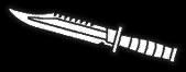 Alternate combat knife icon