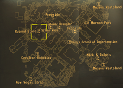 FNV Ruined Store map