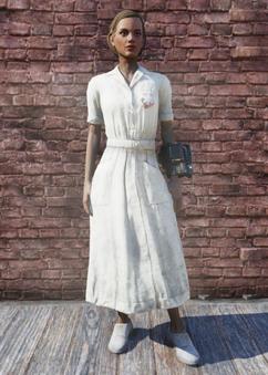 FO76 Nurse Uniform