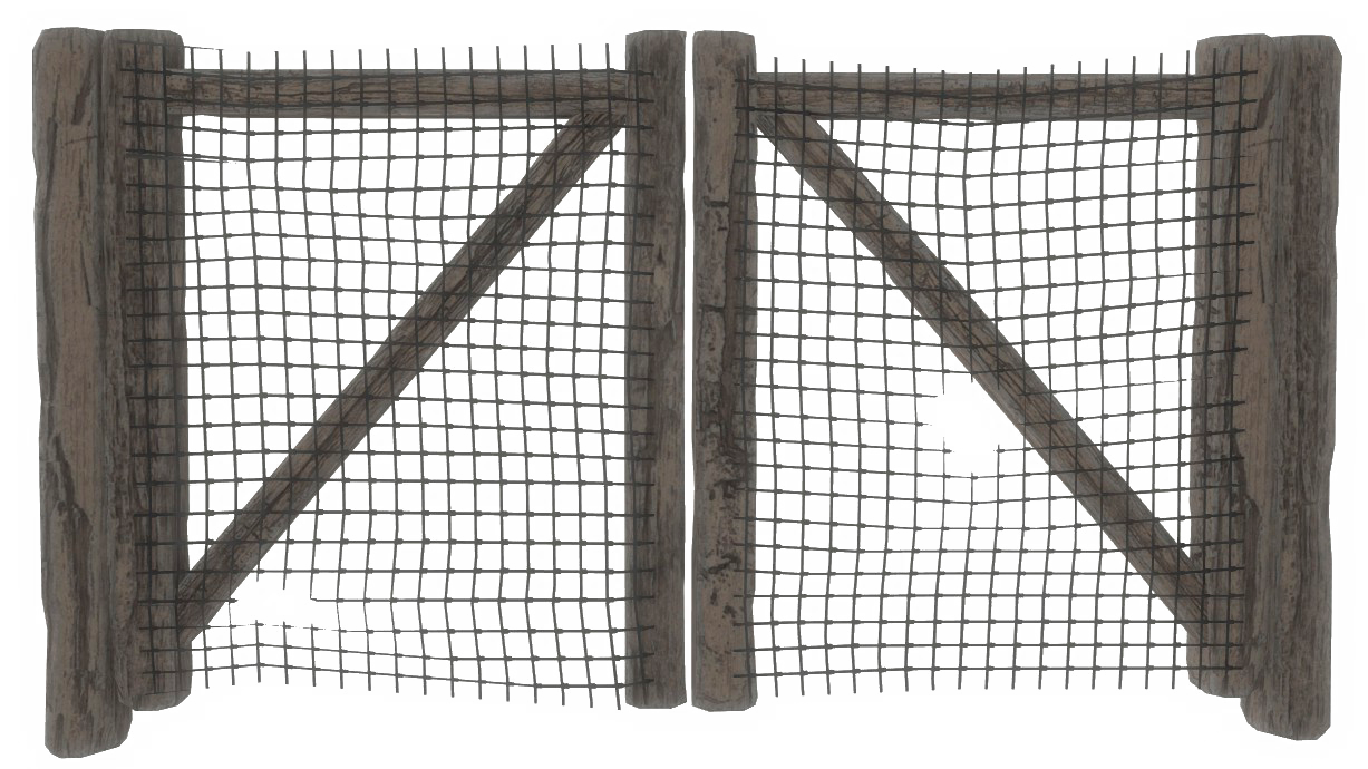 Image - Fo4 wire fence gate.png | Fallout Wiki | FANDOM powered by Wikia