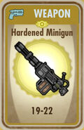 FoS Hardened Minigun Card