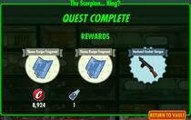 FoS The Scorpion... King? rewards