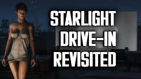 "Starlight Drive-In Revisited - ""Lived-In"" Settlement Build - Fallout 4"