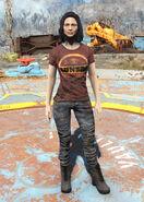 Sunset Sarsaparilla t-shirt female