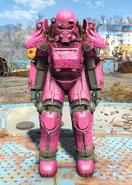 T-45 power armor Slocum's Joe pink paint
