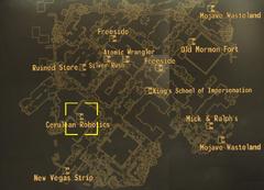 Cerulean Robotics map