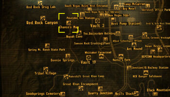 Fallout Las Vegas Map.Chance S Map Fallout Wiki Fandom Powered By Wikia