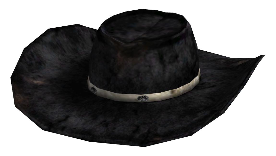 A black cowboy hat with a large brim 70a7eeffebdf
