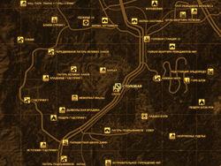 FNV Карта СТОЛОВАЯ