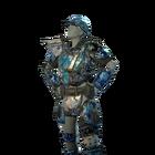 FO76NW Metal Armor Snowflakes