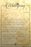 FO76 Whitespring Letter of resignation