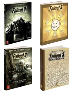 Fallout 3 Official Game Guide Collage