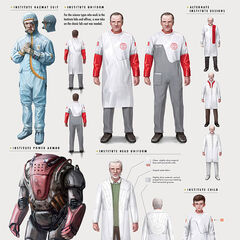 Institute lab coat