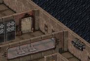 Alpha experiment disk wall safe