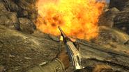 FNV Nellis Munition Shells explosion