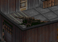FO2 Sierra Army Depot howitzer ingame