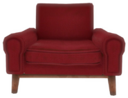 FO4VW Clean red armchair