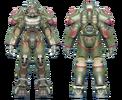 FO4 T-60 power armor hot rod shark