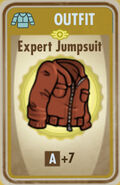 FoS Expert Jumpsuit Card