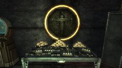 Gold bars vault